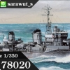 TA78020 Japanese Destroyer Yukikaze 1/350