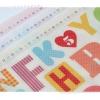 ผ้าสักหลาดเกาหลี coloralpha มี 3 สี เบอร์ 802/804/827 Size 45x30 cm / ชิ้น (Pre-order)