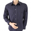 Next Shirt Black Striped Size M