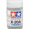 TA81030 Acrylic paint Thinner X-20A 46ml