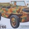 TA35224 GERMAN SCHWIMMWAGEN TYPE 166 1/35