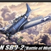 "AC12296 USN SBD-2""BATTLE OF MIDWAY"" 1/48"
