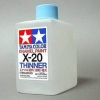 TA80040 X-20THINNER 250ML (Enamel)