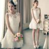(เช่าชุดราตรี) ชุดแต่งงาน <สีขาว> รหัสสินค้า EK_WDS0083