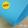 ผ้าสักหลาดเกาหลี สีพื้น 2.0 mm ขนาด 45x36 cm/ชิ้น (Pre-order) MP-02 Dot กันลื่น สีฟ้า