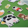 ผ้าสักหลาดเกาหลี zoo size 1mm ขนาด 45x30 cm/ชิ้น (Pre-order)