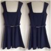 Miss selffridge Dress with belt Size uk10