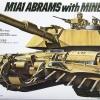 TA35158 U.S. M1A1 Abrams w/ Mine Plow 1/35