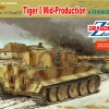 DRA6700 TIGER I MID W/ZIMMERIT 1/35 SCALE