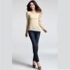 เสื้อเบลาส์ Gold Silk Hemp
