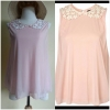 Topshop Pink Top Size Uk8-Uk10