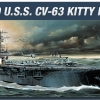 AC14210 U.S.S. CVN-63 KITTY HAWK(1/800)