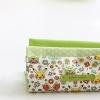 ผ้าคอตต้อนเกาหลีจัดเซต Pikachu Mini (Green) Three species ขนาด 27.5x45cm จำนวน 3 ชิ้น (พร้อมส่ง)