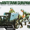 TA35047 German 75mm Anti-Tank Gun Pak.40 1/35