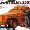 TA35115 German SdKfz 250/9 Kit 1/35