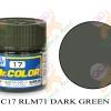 C17 RLM71 Dark Green Semi-Gloss 10ml