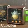 พวงกุญแจกล่องเพลง Totoro Petite Music Box Ball Chain