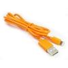 สายชาร์จ หัว Lightning GOLF iPhone 5 หรือสูงกว่า (สีส้ม)