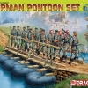 DRA6532 GERMAN PONTOON SET (PREMIUM) (1/35)