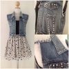 Topshop moto stud jacket size Uk12