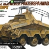 TA35297 German Sd.Kfz.232 Africa Corps - 8 Wheeled Heavy Armored Car 1/35