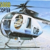 AC12249 500D POLICE HELICOPTER (1/48)