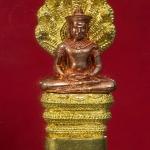 พระนาคปรก ศิลปะลพบุรี ๑๐๐ ปี สมเด็จพระสังฆราช วัดบวรฯ ปี 56 พร้อมกล่องสวยครับ(B) [g-p]
