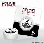 Lip Balm by Wink White 10 g. ลิปบาล์ม วิงค์ไวท์ ลิปปากชมพู