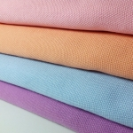 ผ้าแคนวาสเกาหลี มี 6 สี ขนาด 145x90 cm /หลา ผ้าหน้ากว้างพิเศษ (พร้อมส่ง)