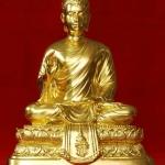 พระบูชา สธ. ศิลปคันธารราฐ ปางประทานพร หน้าตัก 5 นิ้ว ปิดทอง วัดบวรฯ ปี 21 สวยและหายากมากครับ (ปิดทองใหม่ครับ)