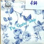 napkin ลายดอกไม้ (รหัสสินค้า NA-484)