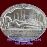 ..เนื้อเงิน..เหรียญพระนอน หลัง ภปร. วัดโพธิ์ เฉลิมพระชนมพรรษาในหลวง ครบ 5 รอบ ปี 2530 พร้อมซองเดิมครับ (126)..U..