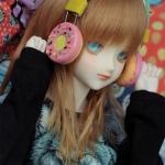 Headphones Donut Strawberry