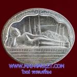 ..เนื้อเงิน..เหรียญพระนอน หลัง ภปร. วัดโพธิ์ เฉลิมพระชนมพรรษาในหลวง ครบ 5 รอบ ปี 2530 พร้อมซองเดิมครับ [g-p]