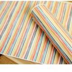 ผ้าสักหลาดเกาหลี stripe size 1mm ขนาด 45x30 cm/ชิ้น (Pre-order)