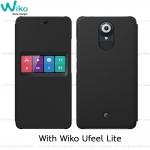 Wiko Case Smart folio WiBOARD U FEEL LITE เคสของแท้จากวีโก (Black)