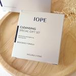 IOPE Cleansing Special Gift Set (3 Items) เซททำความสะอาดผิวหน้า ช่วยขจัดคราบเมคอัพ