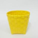 กล่องปากกากลม (PO) สีเหลือง
