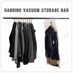 ถุงสูญญากาศ สำหรับแขวนเก็บในตู้เสื้อผ้า เพื่อเพิ่มพื้นที่ในตู้เสื้อให้มากขึ้น
