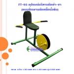 FT-05 อุปกรณ์บริหารข้อเข่า-ขา (แบบจักรยานล้อเหล็กนั่งพิง)