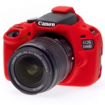 Canon 1200D EasyCover Silicone Case -Red