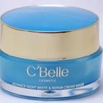 C'Belle Advance Night White & Repair Cream Mask 20 g. ซีเบล แอดวานซ์ ไนท์ ไวท์ แอนด์ รีแพร์ ครีม มาส์ค