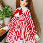 [PRE-ORDER] Stripe Collection Red & White