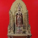 พระพุทธนิมิต องค์พระเนื้อนวโลหะ ฐานโลหะผสม วัดสุทัศน์ฯ ปี 2540 สวยครับ
