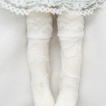 LATI SOCKS WHITE LACE II