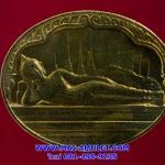 เหรียญพระนอน หลัง ภปร. วัดโพธิ์ เฉลิมพระชนมพรรษาในหลวง ครบ 5 รอบ ปี 2530 (ด)