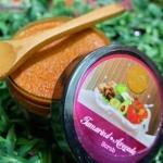 พริ้วพราวสครับไวท์ Tamarind Avocado Scrub 360 g. สครับขัดผิวมะขาม ผสมอโวคาโด