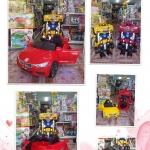 รถแบตเตอรี่เด็กนั่ง รุ่นแปลงเป็นหุ่นยนต์ได้