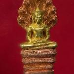 พระนาคปรก ศิลปะลพบุรี ๑๐๐ ปี สมเด็จพระสังฆราช วัดบวรฯ ปี 56 พร้อมกล่องสวยครับ(A) [g-p]