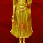 พระพุทธสุริโยทัยสิริกิติทีฆายุมงคล โลหะปิดทอง สูง 13 นิ้ว ปลุกเสก วัดพระแก้ว ปี 2534 สภาพสวยครับ